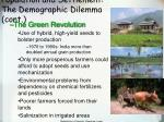 population and settlement the demographic dilemma cont29