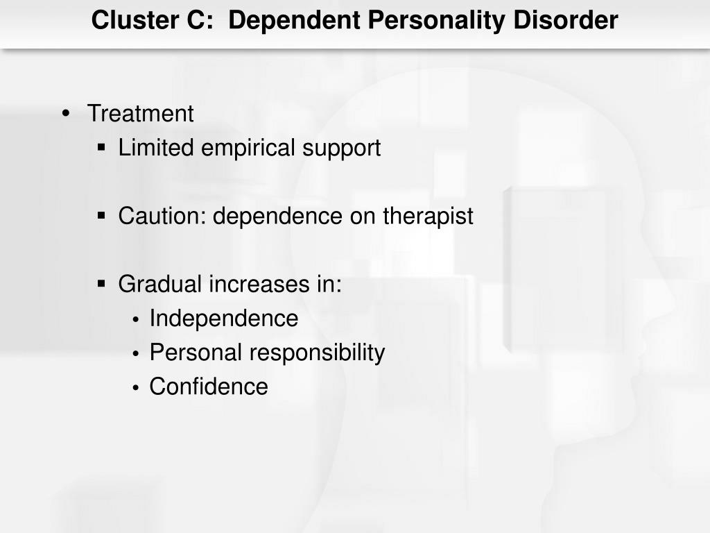 PPT - Chapter 12 Personality Disorders PowerPoint