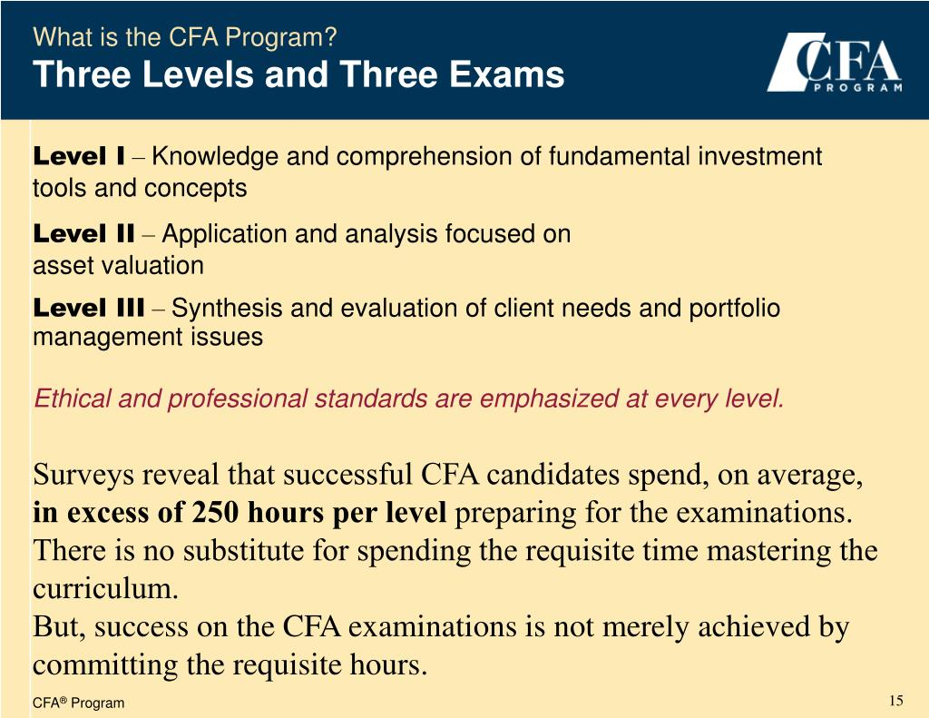 PPT - Chartered Financial Analyst ® PowerPoint Presentation - ID:1409435