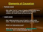elements of causation