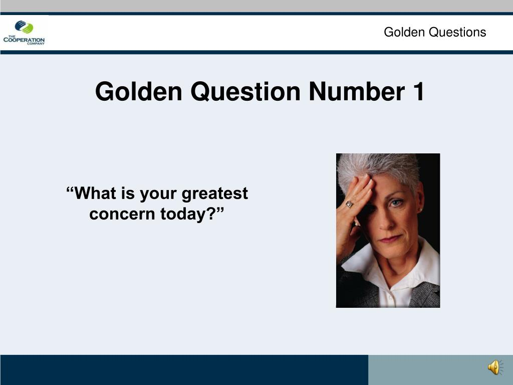 Golden Questions