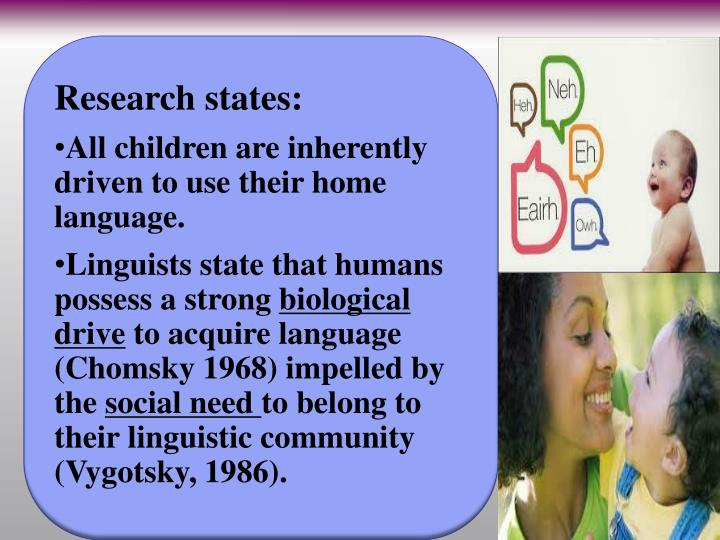 Research states: