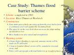 case study thames flood barrier scheme34