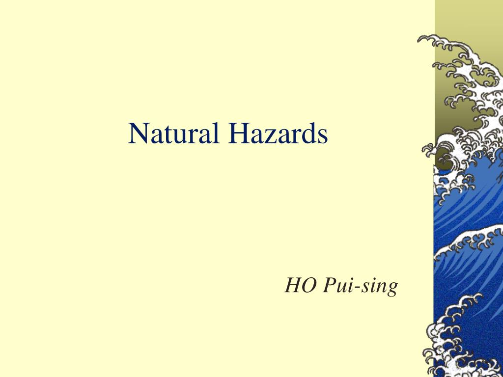 natural hazards l.