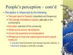 people s perception cont d23