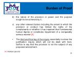 burden of proof7