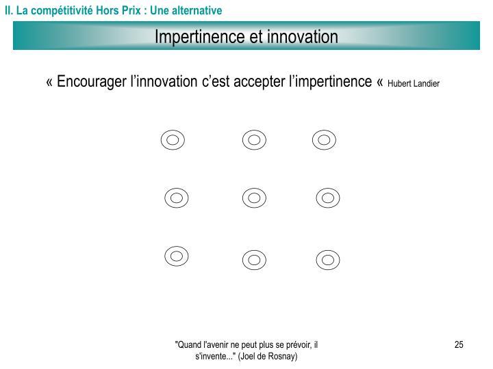 II. La compétitivité Hors Prix : Une alternative