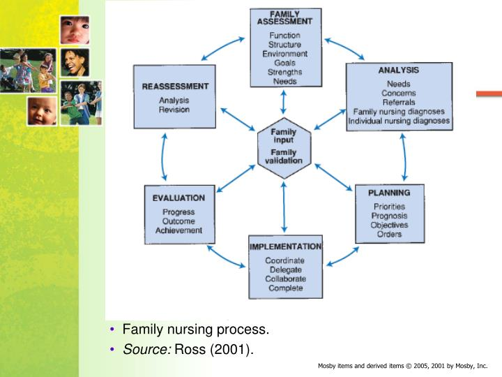 steps of family health nursing process Among the nursing process steps implemented, nursing prescription was the least frequently performed during the first 48 h of hospitalization in all groups (748%), particularly in surgical and clinical units evolution was described in more than 97% of the records.