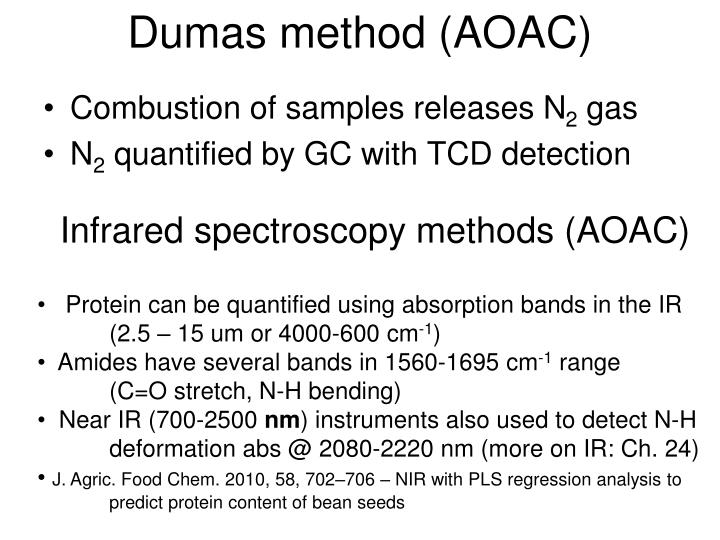 dumas method To determine the molecular mass of an unknown volatile liquid using the dumas method and the ideal gas law in the early 19th century, jean-baptiste dumas, a distinguished french chemist, created a relatively simple method for determining the molecular mass of a volatile substance in this.