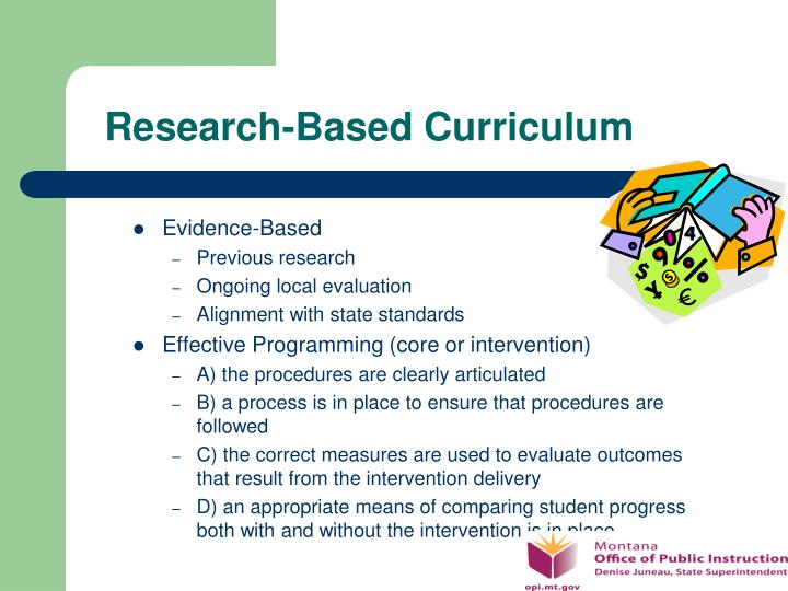 Research-Based Curriculum
