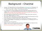 background chanimal