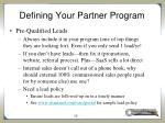 defining your partner program11