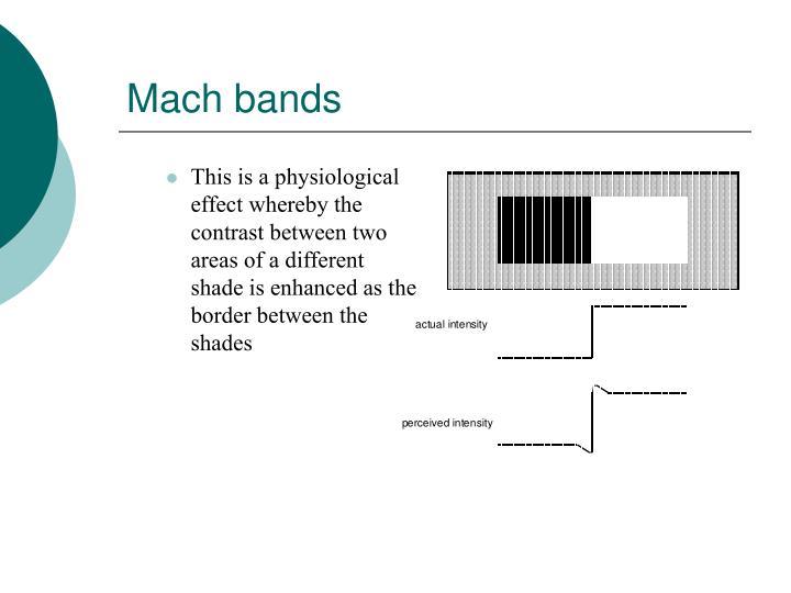 Mach bands