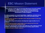 ebc mission statement