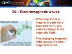 25 1 electromagnetic waves