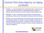 central ohio area agency on aging coaaa