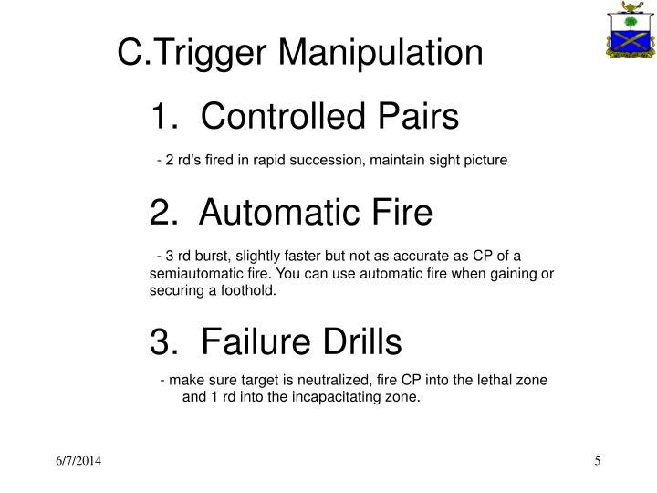 C.Trigger Manipulation