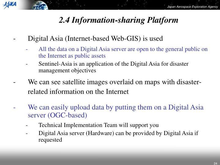 2.4 Information-sharing Platform