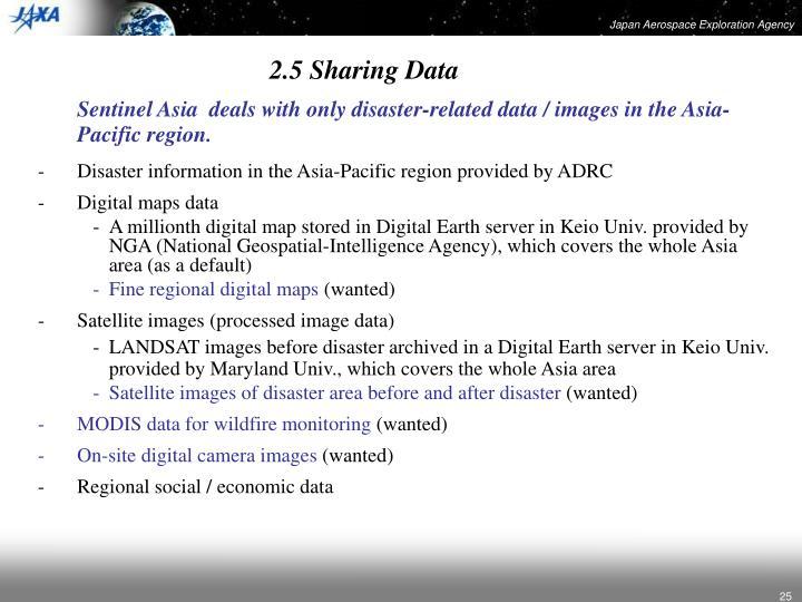 2.5 Sharing Data