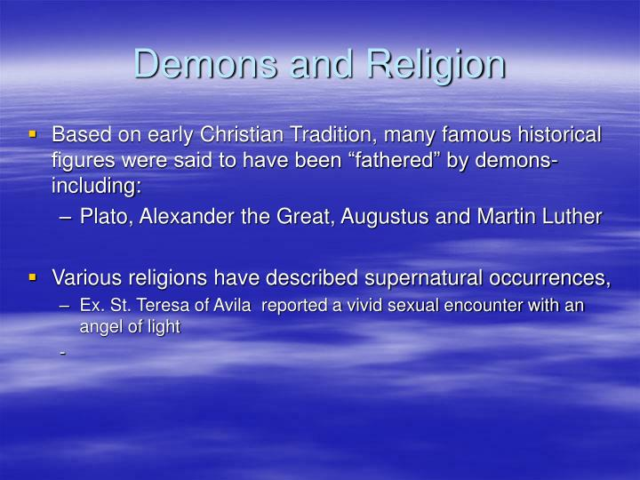 Demons and Religion