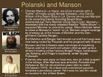 polanski and manson