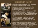 polanski in exile