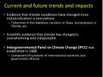 current and future trends and impacts