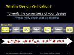 what is design verification1