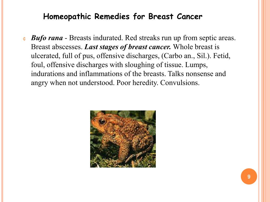 PPT - Homeopathic Remedies for Breast Cancer PowerPoint