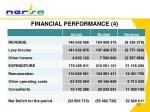 financial performance 4