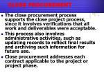 close procurement1