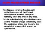 close project phase process