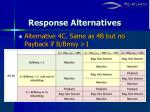 response alternatives11
