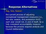 response alternatives6