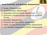 local economic and business assessments