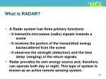 what is radar1
