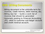 ds5 billing documents