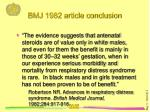 bmj 1982 article conclusion