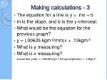 making calculations 3