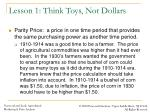 lesson 1 think toys not dollars4