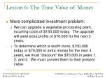 lesson 6 the time value of money4