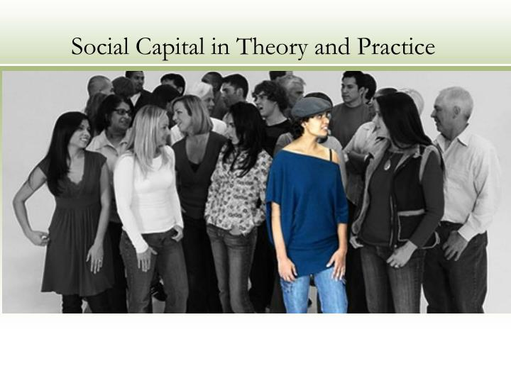 social capital in theory and practice n.