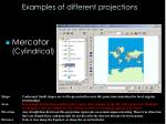 examples of different projections2