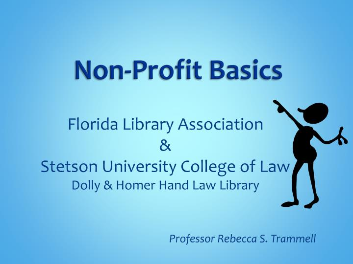 florida library association stetson university college of law dolly homer hand law library n.