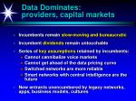 data dominates providers capital markets