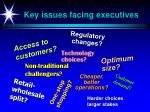 key issues facing executives