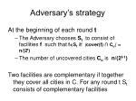 adversary s strategy6