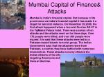 mumbai capital of finance attacks