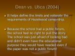 dean vs utica 20043