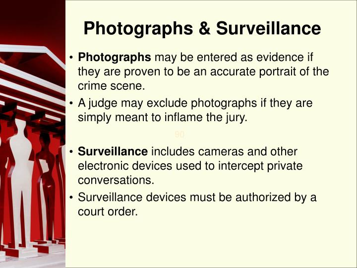 Photographs & Surveillance
